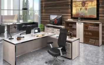 Vadovo biuro baldų komplektai