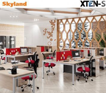 XTEN-S Modernūs ir ergonomiški darbuotojo baldai
