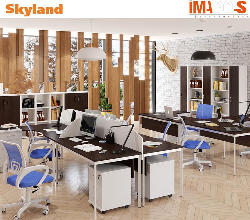 IMAGO S Naujos kartos ergonomiški darbuotojų stalai