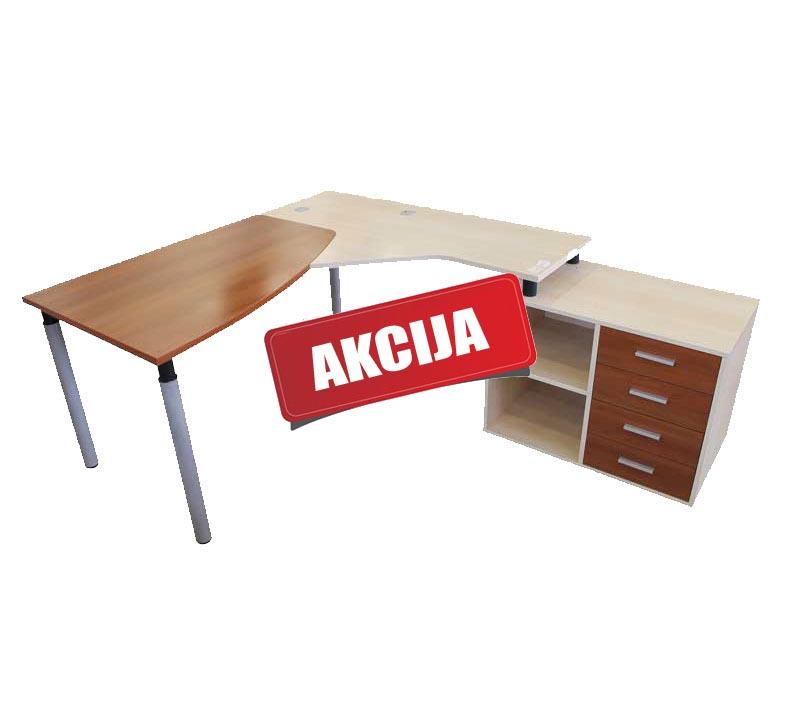 Kampiniai darbo stalai išpardavimas - Kinnarps
