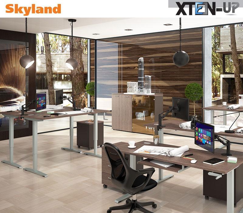 XTEN-UP Ergonomiški reguliuojamo aukščio stalai