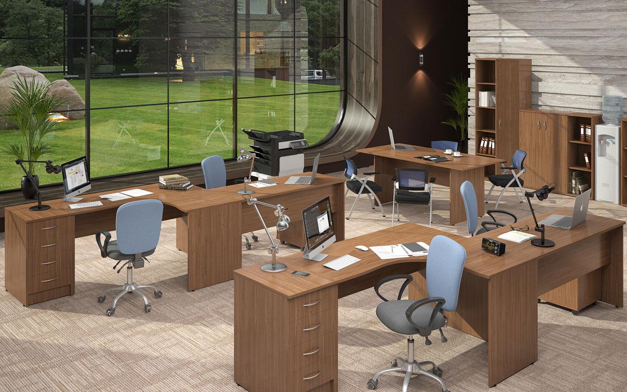IMAGO Platus darbuotojų baldų asortimentas